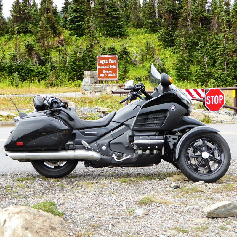 Harley-Davidson equipped with TRiO Trike Kit