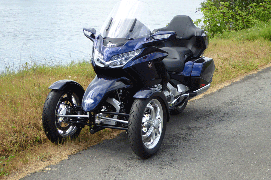 Honda Gold Wing 2018 with TRiO
